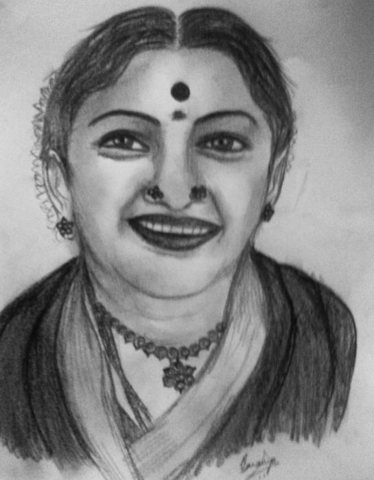 M. S. Subbulakshmi by Saranya